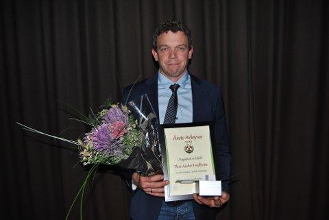 Thor André Fredheim ble kåret til årets avløser i Rogaland.