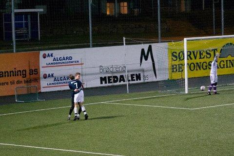 Daniel Eide Hansen scorte kampens første og siste mål, og sendte dermed Gjesdal FK rett til kretsmesterskaps-finale.