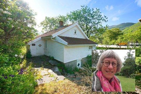 Marte-Gunn Søsveen Austvoll selger et av få jærhus som står igjen i Rogaland.