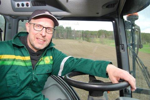 KRAV: Leder i Hedmark Bondelag, Erling Aas-Eng, har lagt fram sine krav til  jordbruksforhandlingene.