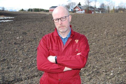 Bondelagsleder Erling Aas Eng understreker at klimatiltakene må skje uten at det går på bekostning selvforsyningen, ettersom matproduksjonen blir bare enda viktigere å ta vare på framover.