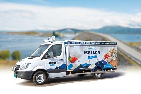 KJENT SYN: Nå blir det enda flere isbiler i nabolaget ditt. Den Norske Isbilen (bildet) får konkurranse.