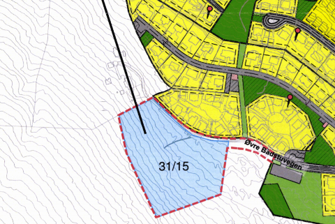 MOT MARIKOLLEN: Om lag 450 meter unna Marikollen skole planlegges det en reguleringsplan som kan sørge for nye beboere i Kongsvinger.