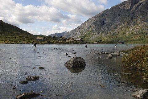 Gjendeosen er en smått legendarisk fiskeplass i Vågå. Nå kan du fiske her helt til 10. oktober.