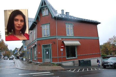 NY LEIETAKER: Sara Nancy Bonomi åpner butikk i Libertines gamle lokale i Storgata 42. Fotomontasje.