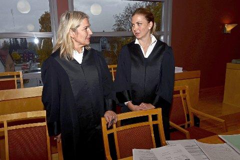 Ankesak: Nina Braathen Hjortdal er bistandsadvokat og politi-advokat Ingveig Nøkleby aktor i ankesaken i Eidsivating lagmannsrett.