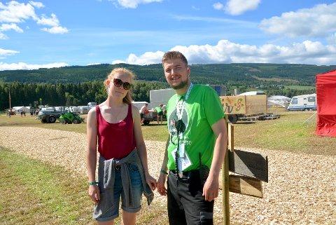 Ola Skrivlien Venås (30) fra Gausdal er leder av landsstevnet 2017. Det er hans og Marte Johansens (23) kjærlighetshistorie som skal fortelles.