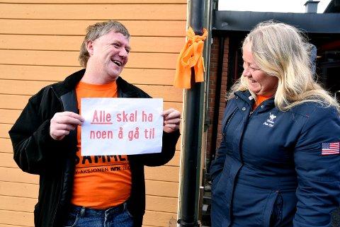 Svein Tore Tobiassen og Ingunn Skaare fra Kvam, var to av dem som var med på årets TV aksjon.