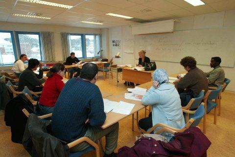Regjeringen vil blant annet fornye og forbedre norskopplæringen.