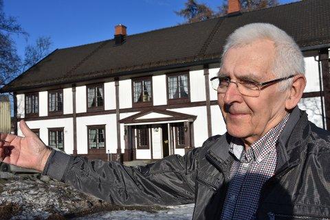 "TUSENÅRSSTED: Mo gård er en naturlig arena, mener Leif  Peder Østmo og minner om ""Gunnar på Mo""."