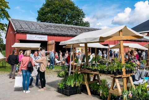 MARKED: Førstkommende helg blir det hagehistorisk marked på Sveinhaug på Rudshøgda.