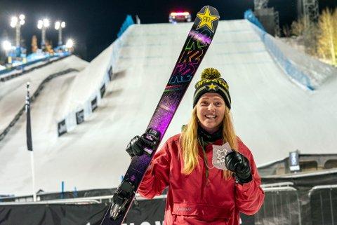 Johanne Killi fra Dombås tok sølv under X Games i Aspen i fjor. I år har hun et stort mål om gull.