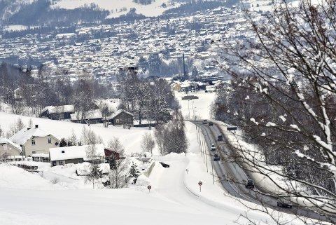 Ny veg: Sør for Lillehammer skal E6 legges i tunnel, og prosjektet er nå ett skritt nærmere realisering.