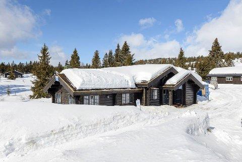 Lettsolgt: Hytta med prisantydning på 6,7 millioner kroner ble raskt solgt på Sjusjøen.