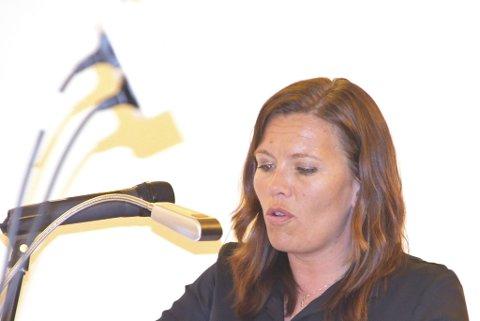 Ordfører Mariann Skotte og de andre i Senterpartiet fikk med seg flertallet i kommunestyret til  redusere eiendomsskatten på næringseiendommer.