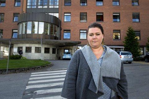 STOR ARBEIDSMENGDE: Oda Solheim Hammerstad (Sv) er medlem av utvalg for helse, omsorg og velferd. Her satt hun ord på hvordan hun opplevde å jobbe som fastlege.
