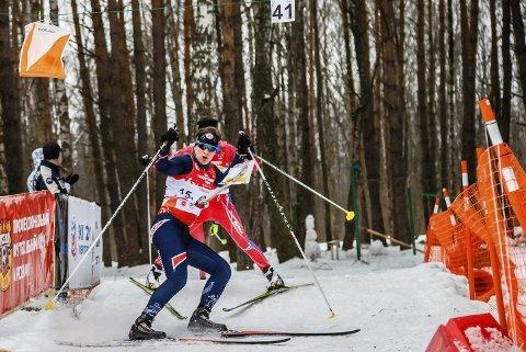 BESTE NORDMANN: Bjørnar Kvåle ble beste nordmann med en fin 15. plass på EM-sprinten i Finland.