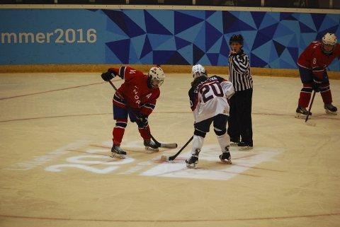OPPLEVELSE: Nora Chistophersen i aksjon for Norge under Ungdoms-OL. Foto: Privat