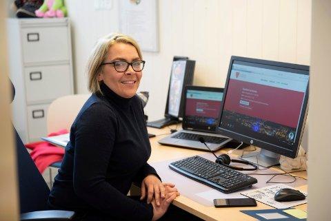 Stortrives: Nina Beate Berg Fingarsen har nå fått en prosjektstilling ut året, og stortrives i den nye jobben.