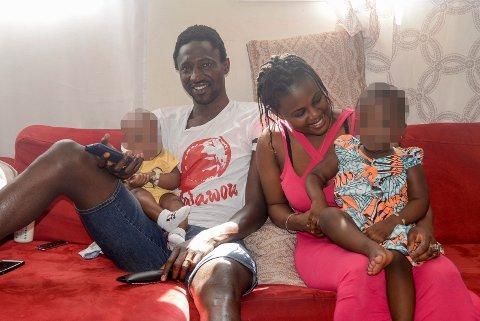 HVA NÅ? Ibrahima Dramé og familien får ikke forlenget opphold i Norge, og må forlate landet innen 1. september. Familien er usikker på framtiden, men nå venter kanskje en retur til Senegal.