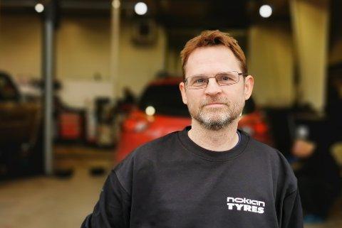 NYTT ANSIKT: Geir Morgenlie er på plass i ny jobb.