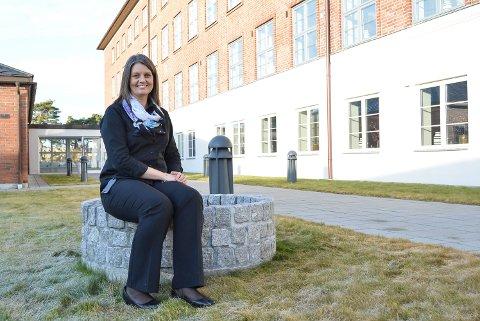 STENGT: Hotellsjef Marianne Olsen velger å se framover og håper på at året 2021 blir året over alle år for Fredriksten hotell. Arkiv.
