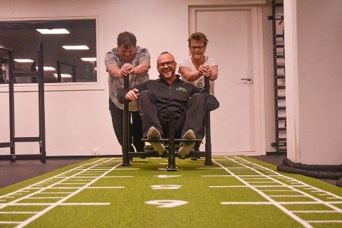 HAR ENDRET LIVSSTIL: Rino og Lina Støkket har endret livsstil totalt etter at de møtte personlig trener Stein Ove Salvsesen på Sky Fitness.