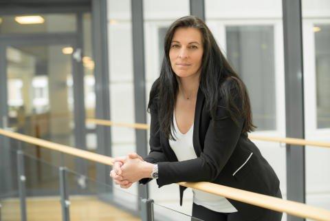 GRUNNLAG: - Vi har fått grunnlag for å snu i saken, sier Kristin Vetlesen som er kommunikasjonsdirektør i Sparebank 1 Forsikring.