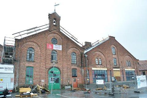 PÅ PLASS TIL HØSTEN: NLM Gjenbruk skal inn i  de gamle lokalene til Europris på Høvleriet.