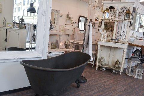 RASK EXIT: Nettbutikken Vintage Living åpnet butikk i gågata i fjor sommer. Nå skal de ut av Tungegården.