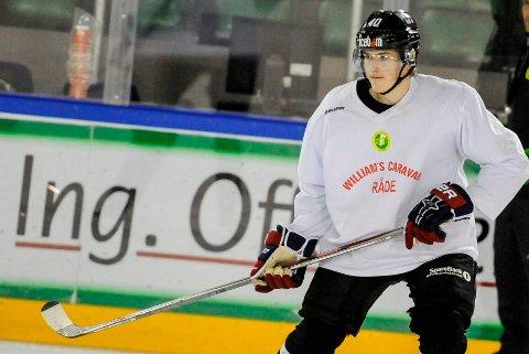 BLIR: Håkon Jonas Vaglen (20) spiller for Comet også kommende sesong.