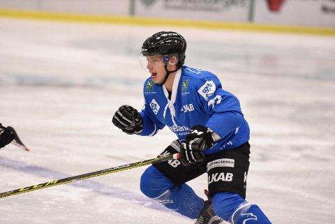 LEGGER OPP: Sander Mjølnerød, haldenseren som har spilt for Narvik, legger opp som hockeyspiller.