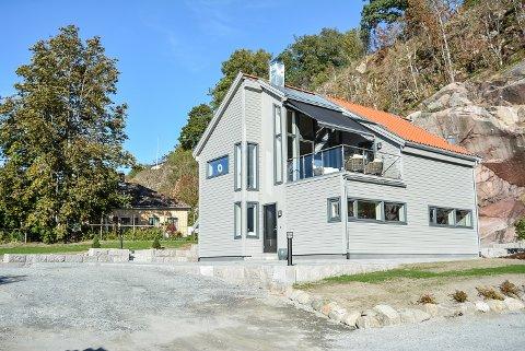 ATTRAKTIV BOLIG: Gamle Sørhaugen 17 c lå til salgs for 6,5 millioner kroner, men ble solgt til en million kroner over takst.