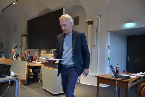 KRITISK: - Flere her i salen er bekymret for de mulige økonomiske konsekvensene dette arrangementet kan få, sa Fridtjof Dahlen (SV) i kommunestyret.