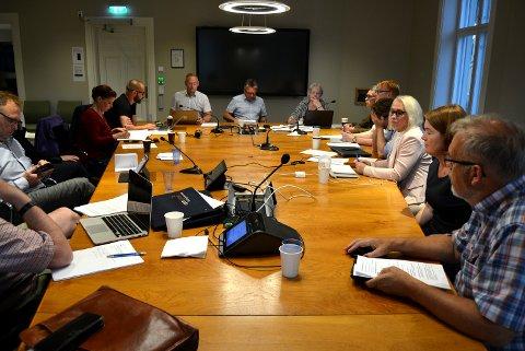 LANG SAKSLISTE: I formannskapsmøtet ble en rekke vedtak fattet, noen av dem kan du lese om i denne artikkelen.