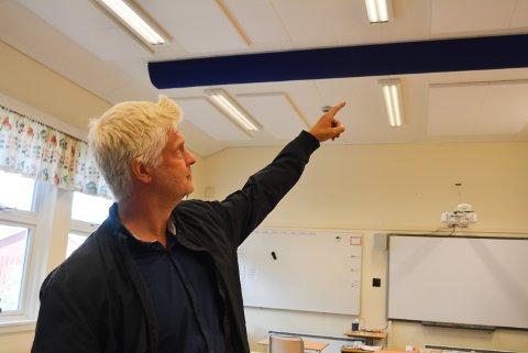 UTBEDRINGER: Sjur Mørk er fagleder for skole i Halden kommune og forteller hvordan sektoren starter opp igjen torsdag 14. mai.