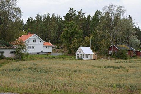 STOR INTERESSE: Det var stor interesse for eiendommen Aspernveien 570 da det lå ute for salg.