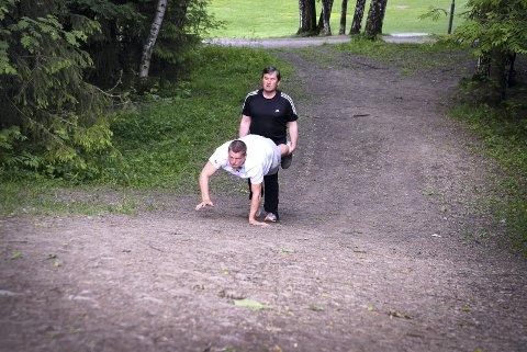 Håkon Kveseth og Ragnar Danielsen