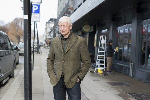 FRAMTIDEN: Ordfører Einar Busterud inviterer lokalbefolkningen til å tenke stort om Hamars framtid.