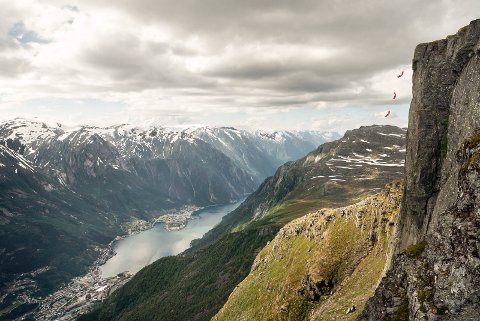 One Call stunt i Odda før ekstremsportveko