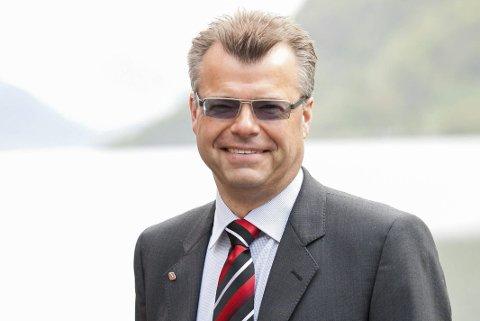 Skifter beite: Etter sju år som avdelingsbanksjef i Sparebanken Vest er Øyvind Stueland nå klar for nye utfordringer. Foto: Marit Hommedal/SPV
