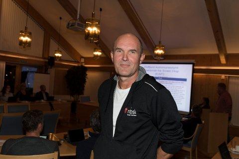 Brannsjef: Egil Holven tilrådde Eidfjord å seia ja.