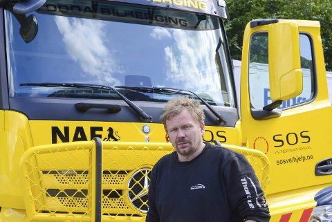 Bilbergar: Thord Paulsen har vorte internasjonalt kjend gjennom TV-programmet Vinterveiens helter.