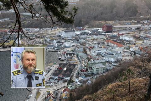 Likt som resten av landet: Narkotikasituasjonen i Hardanger skil seg ikkje mykje frå resten av landet. Politioverbetjent Vidar Litle-Kalsøy seier at den aldersgruppa som uroar dei mest i høve narkotika er ungdom i 13-14-årsalderen.