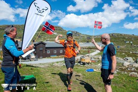 Dynafit Hardangerjøkulen Ultra: Ultra er eit 95 km langt løp som berre går over fjellterreng. I år kan ein velje å springe eit kortare løp på 34 km.