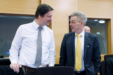 Fv.: John Christian Elden    og Erik Lea. Foto: Harald Nordbakken