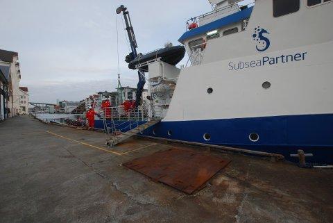 NY KONTRAKT: Dykkefirmaet SubseaPartner som holder til på Risøy har signert nok en viktig kontrakt med Vår Energi.