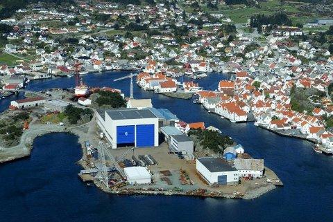 REDDET: Umoe Industries AS overtar Skude Industri. Arkivfoto: Harald Nordbakken