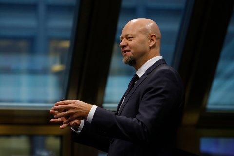 Leder Yngve Slyngstad i Norges Bank Investment Management la fredag fram resultatet i tredje kvartal for Statens pensjonsfond utland, bedre kjent som oljefondet.