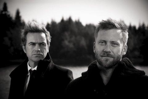 Lunsjkonsert: Gunnar Halle og Espen Eriksen har lunsjkonsert i Tysværtunet fredag.